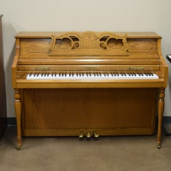 Used Wurlitzer P265 Vertical Piano and bench