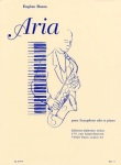 Aria For Alto Sax And Piano