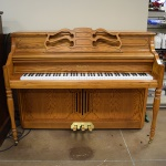 SU343 Used Samick Vertical Piano & bench