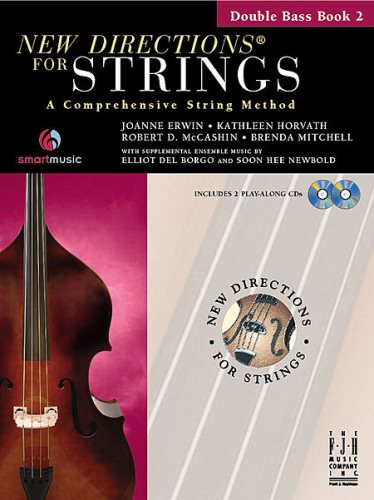 New Directions for Strings Bk 2 Bass
