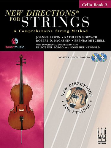 New Directions for Strings Bk 2 Cello