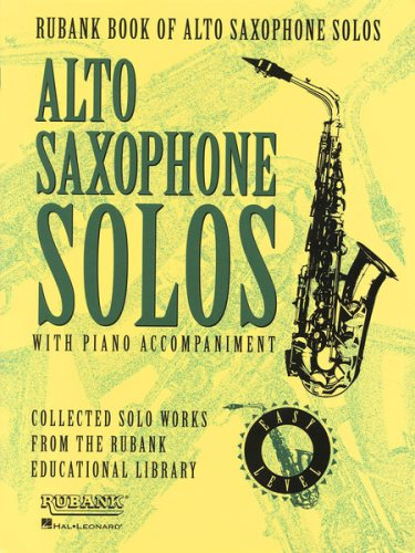 Rubank Book of Easy Alto Sax Solos