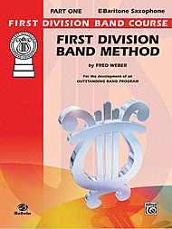First Division Band Method Bk1 Bari Sax