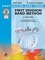 First Division Band Method Bk2 Tenor Sax