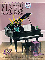 Basic Adult Piano Course Lesson Lv 1 w/DVD
