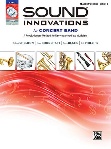 Sound Innovations for Concert Band Bk 2 Score wCD