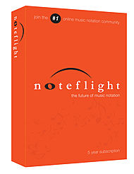 HL NOTEFLIGHT5YR Noteflight 5 Year Subscription