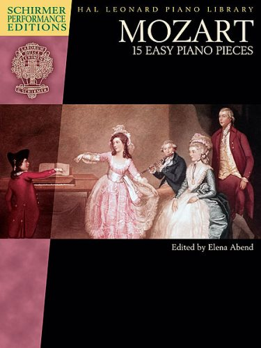 Mozart 15 Easy Piano Pieces