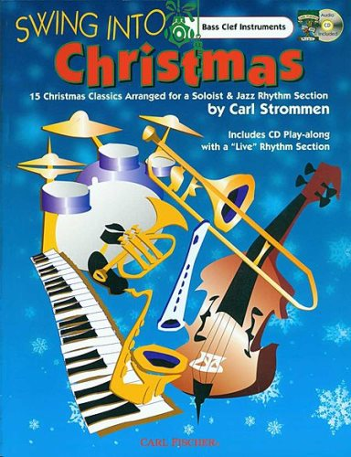 Swing into Christmas Bass Clef C Insts