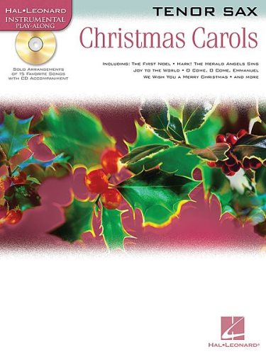 Christmas Carols w/CD - Tenor Sax