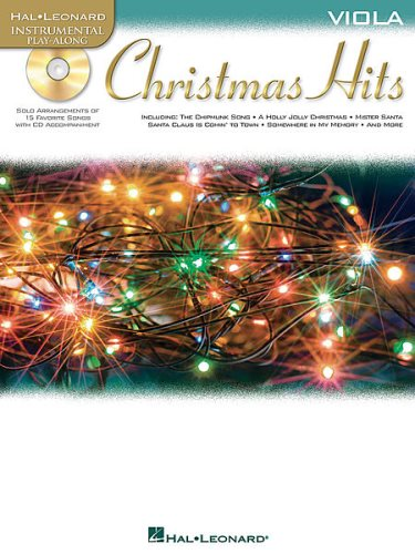 Christmas Hits w/CD - Viola
