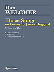 Three Song on Poems by James Hoggard - Piano Vocal