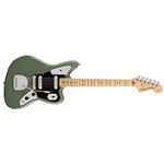 0114012776 Fender American Pro Jaguar - Antique Olive, Maple FB