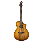 PSCP29CEMYMY Breedlove Pursuit Exotic Companion CE Prairie Burst Myrtlewood-Myrtlewood