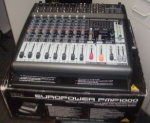 PMP1000 Behringer 500watt powered Mixer