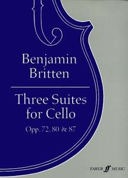 Three Suites For Cello Op 72 80 87
