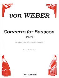 Concerto For Bassoon - Op 75