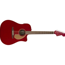 0970713509 Fender Redondo Player - Candy Apple Red